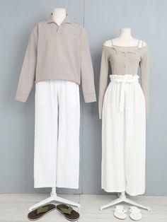 Hijab Fashion Summer, Kpop Fashion Outfits, Ulzzang Fashion, Stage Outfits, Korean Outfits, Korean Street Fashion, Korea Fashion, Matching Couple Outfits, Fashion Couple