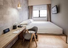 Big Hotel Singapore – Located downtown with just 7-min walk to Bugis MRT station. All rooms come with Serta mattress and free WiFi. Room rates from US$99.