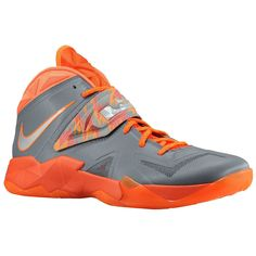 Nike Zoom Soldier VII 609679 003 Metallic Silver Team Orange Total Orange  Latest Shoes 1891c1ec11