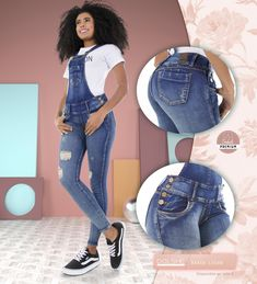 Las bragas u overoles son perfectas para lucir completamente diferente. Es hora de darle un nuevo aire a tu outfit . . . . .  #dolshe #denim #lovejeans #jeansperfectos #jeansparamujer#jeanscolombianos #jeans #fashion#trendy #outfit #trendalert#modafemenina #modacolombiana#tendencia #sunday #smile #friends#colombiamoda #fashion #fashionpost#modafemenina #tendencia Embroidery, Outfits, Denim, Casual, Jackets, Women, Fashion, Luxury, Romper