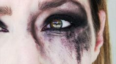 Tears in a Female Girl Stock Footage Video Royalty-free) 3367604 Story Inspiration, Character Inspiration, Smudged Makeup, Eyeliner, Eye Makeup, Vikings, Merian, Sad Eyes, Female Girl