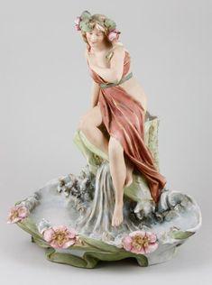 Royal Dux Porcelain Figurine