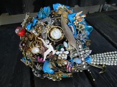 Your life your Brooch Bouquet by broochbouquets on Etsy, $275.00