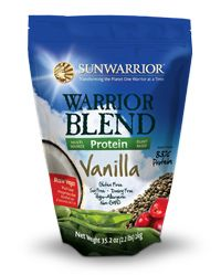 Sunwarrior Warrior Blend Raw Vegan Protein Powder - Vanilla. Tastes amazing, no dairy/soy/grains, sweetened only with stevia, and approved of by even the biggest meatheads (like my trainer). Done and done.