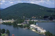 Lake Hamilton, Hot Springs, AR @abbypinsthings and @goodnaturedfink , the bay on the left...your first home :)