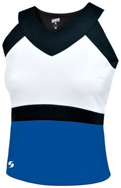7845bf593a801 SOFFE OLYMPIA SHELL TOP. Cheerleading UniformsShell ...