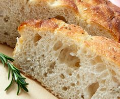 Quick Focaccia Bread With Self Rising Flour, Warm Water, Olive Oil, Sea Salt, Rosemary Flour Recipes, Vegan Recipes, Cooking Recipes, Free Recipes, Cooking Tips, Self Raising Flour Bread, Sin Gluten, Italian Bread Recipes, Croatian Recipes