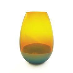 gold topaz & turquoise barrel vase siemonandsalazar.com