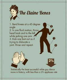 The Elaine Benes | 15 Infographics That Will Make You A GreatDancer
