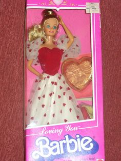 Loving You Barbie 1983--she was one of my favorites My grandma got me and my sister one of these.