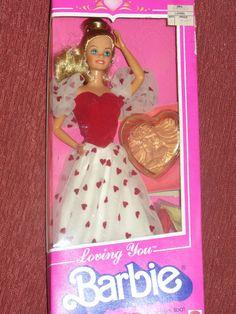 Loving You Barbie 1983