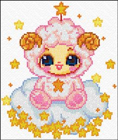 Cross Stitch | Aries xstitch Chart | Design