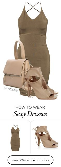 """""""Untitled #1424"""" by whokd on Polyvore featuring Givenchy and Aquazzura"""