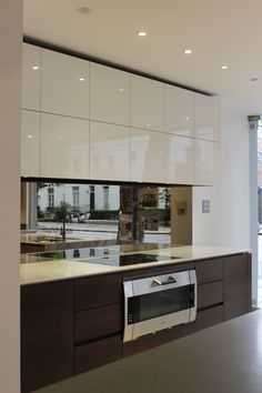 Roundhouse bespoke kitchen in Notting Hill showroom