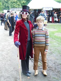 willy wonka and charlie costume - Google Search