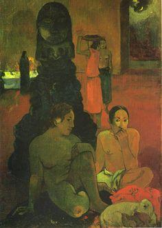 "Paul Gauguin - ""Buda the Great""  1899"