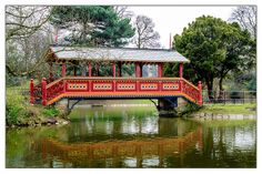 The Swiss Bridge in Birkenhead Park, Merseyside. Liverpool History, Space Place, Some Pictures, Over The Years, Bridge, England, Exterior, Cabin, Landscape