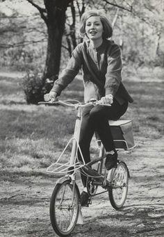 vintage folding bicycle