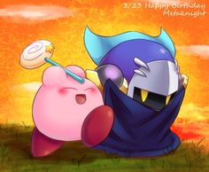 Meta Knight looks really annoyed in this haha