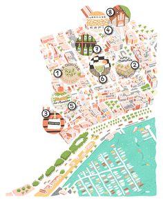 Brussel Airlines maps new! - Antoine Corbineau • Illustration & Design