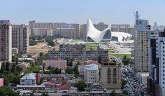 Heydar Aliyev Center, Baku, Azerbaijan by Zaha Hadid