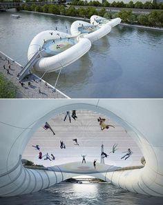 Cool trampoline