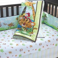 Fisher-Price® 'Rainforest' Nursery 4-pc. Crib Set