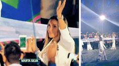 Widely regarded as the greatest woman footballer, Marta was one of eight Brazilian Olympic flag-bearers at the Rio 2016 Olympic Games opening ceremony, which went without a hitch and in sizzling samba style. 07.08.16