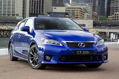 lexus ct200h blue