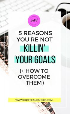 Setting goals is easy but reach them is another story. I love this list of reasons why you're not reaching your goals. Totally guilty of #5! #goalgetter #settinggoals #goalsetter #reachyourgoals #motivation #inspiration #pursueyourgoals
