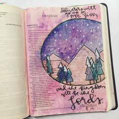 I love this sweet little book. A great reminder that pride comes before the fall. And the kingdom belongs to the Lord. Bible Study Journal, Journal Pages, Art Journaling, Scripture Journal, Journal Art, Journals, Bible Art, Bible Verses, Scripture Art