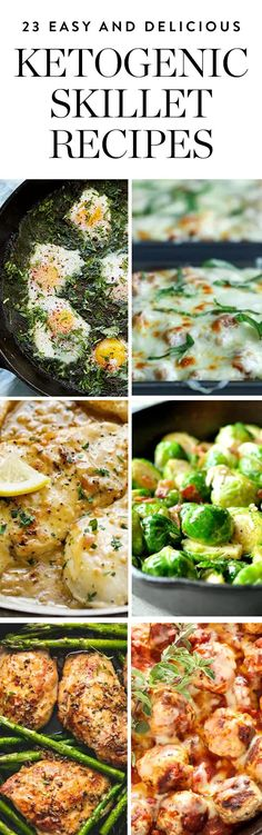 Whip up some of these #ketogenic skillet recipes and invite us over. #ketogenicdiet #ketogenicrecpies