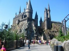 Harry Potter Park Castle http://www.miamidiscounttours.com