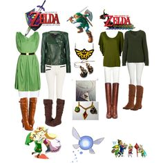 """Legend of Zelda- Link"" by starryeyed1994 on Polyvore"