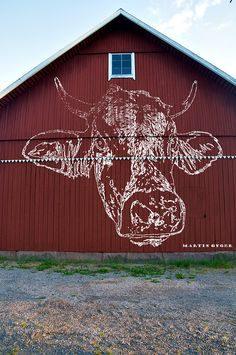 Red Barn | Flickr - Photo Sharing!  OK, it's not a barn square but would be nice if done well.