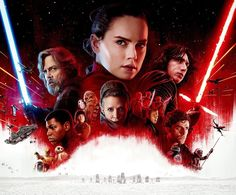 """Star Wars: The Last Jedi • Text-less International Poster (wide) """