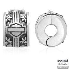 Harley-Davidson® MOD® Stopper Clasp Flowered Ride Bead HDD0142