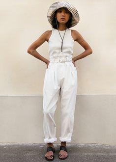 Irolo Denim Pants in Raw White by Rachel Comey – The Frankie Shop New Fashion, Womens Fashion, Rachel Comey, Spring Looks, Wide Leg Trousers, White Denim, Denim Pants, Boyfriend Jeans, Style Inspiration
