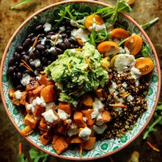 If you're looking for a healthy, filling and completely satisfying lunch option then you're going to love these Buddha bowl recipes all year long!