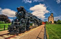 Pere Marquette Locomotive with Coal Tower by Jeff S. PhotoArt on 500px