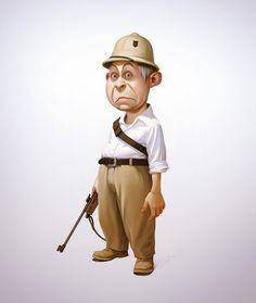 3D Character Design (2) | more http://webneel.com/daily | Follow us www.pinterest.com/webneel