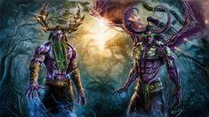 World of Warcraft fan art. First Aspects of Azeroth World Of Warcraft 3, Warcraft Legion, Race Night, Night Elf, Backgrounds Hd, Wallpapers, World Of Warcraft Wallpaper, Illidan Stormrage, Rpg