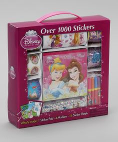 Disney Princess Sticker Set | Daily deals for moms, babies and kids