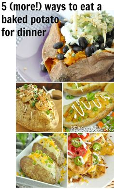 Healthy Potato Lunch & Dinner Recipes #healthy #lunch #recipes