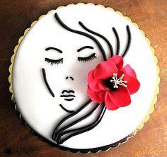 v jednoduchosti je krása Zebra Birthday Cakes, Birthday Cakes For Women, Birthday Cake Girls, Crazy Cakes, Fancy Cakes, Frosting Colors, Cake Decorating Piping, Pretty Wedding Cakes, Heart Cakes