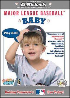 Major League Baseball Baby: Raising Tomorrow MLB Fan Today