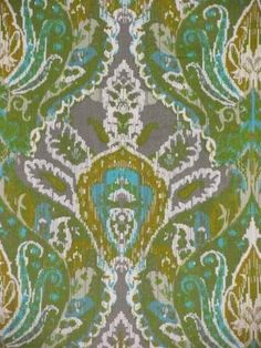 Mansura Menthol - www.BeautifulFabric.com - upholstery/drapery fabric - decorator/designer fabric