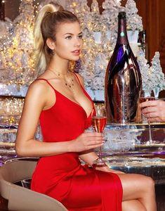 Picture of Nata Lee Lingerie Models, Women Lingerie, Russian Beauty, Russian Models, Young Models, Pink Champagne, Champagne Bottles, White Girls, Malta