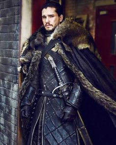 Kit Harington as Jon Snow by Helen SloanYou can find Jon snow and more on our website.Kit Harington as Jon Snow by Helen Sloan Kit Harington, Winter Is Here, Winter Is Coming, Jon Schnee, Got Merchandise, Got Costumes, Hot Guys, Got Game Of Thrones, Game Of Trones