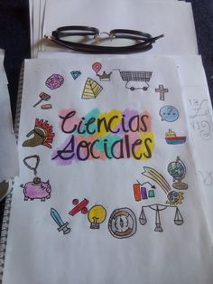 Portfolio Covers, Journal Aesthetic, Sistema Solar, Picsart, Back To School, Banner, Doodles, Notebook, Bullet Journal
